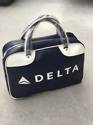 Delta Airlines Zac Posen 75th Anniversary Duffle Bag Tote Bag
