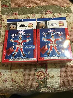 Christmas Vacation Blu Ray Walmart Exclusive Funko Pop National Lampoons