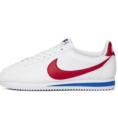 reputable site 7d8ff 1b59a nike cortez white red blue