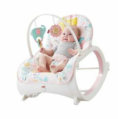 Infant-to-Toddler Baby Rocker Bouncer Seat Sleeper Swing Fisher-Price DTH00