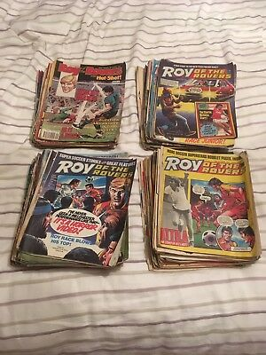 Roy of the Rovers comics bulk Sale