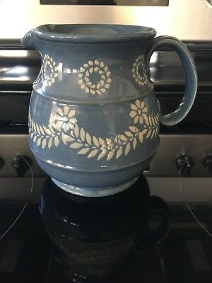 Royal Doulton Lambeth Stoneware  Rare Leaf/Flower Pattern Marked- Early 1900's