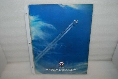 Vintage - 1962 American Airlines Inc. Annual Report -