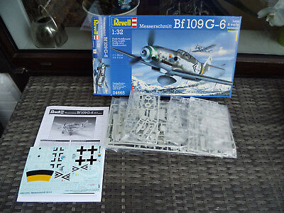 Me 109 G-6 Late & early Version orig .verpackt  Revell  1/32