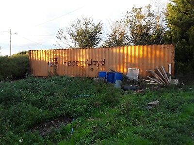 40ft shipping container, storage, dry roof, good condition,  NO VAT