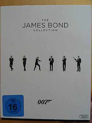 The James Bond Collection - Blu-Ray - Alle 23 Filme (24 Discs) - TOP