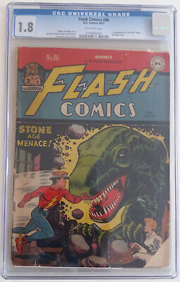 FLASH COMICS  86  CGC 1.8 - 0768485004 - 1st appearance of the Black Canary!