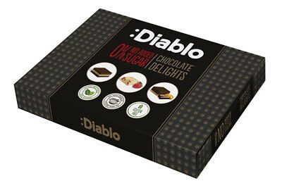 Diablo No Added Sugar Chocolate Delight 115 g, Low Carb, Sweetened with Stevia