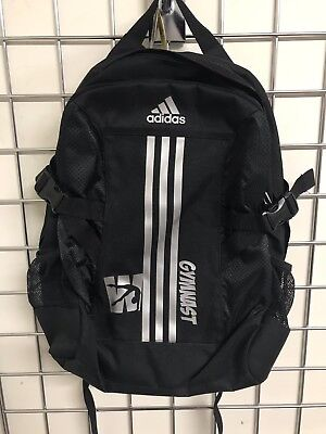 Adidas Back Pack in black with silver print.  Perfect for Xmas