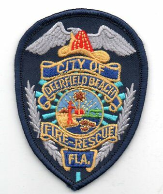 DEERFIELD BEACH Florida FIRE Rescue Patch