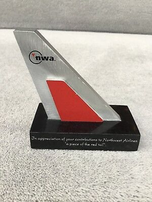 "northwest airlines ""A Piece Of The Red Tail"""