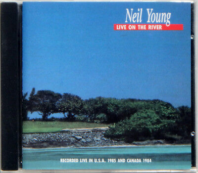 """NEIL YOUNG """"On The River"""" 1984-1985 International Harvesters Import Concert CD"""