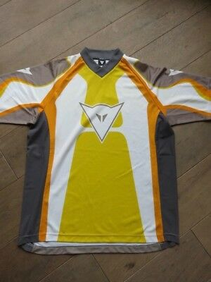 Tee Shirt Col V Dainesse Moto Trial Manches Longues Taille M