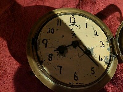 Antique ansonia wall clock working order.