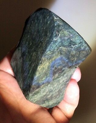 Velvet Obsidian Rough For Lapidary, Display - Mexico - 6.2 Oz