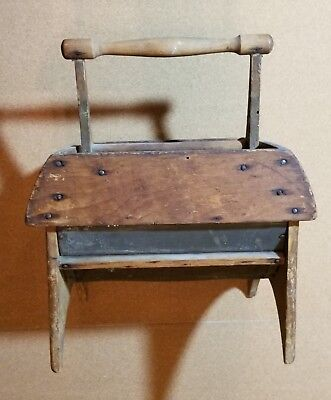 BLOOD'S FLOUR SIFTER. Patented SEPT. 16 1861. Country wood primitive.