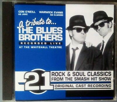 The Blues Brothers. Tribute to... CD. Original Cast Recording.