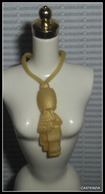Jewelry Barbie Doll Iris Apfel Faux Gold Plastic Necklace  Clothing Accessory