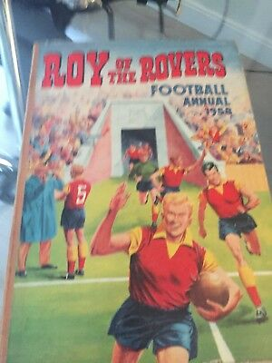 Roy of the Rovers Football Annual 1958. Very Good Condition.