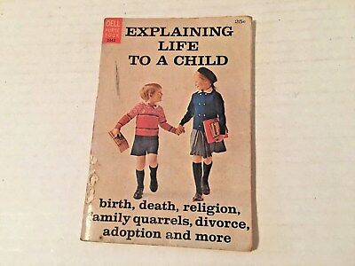 """Vintage Dell Purse Book """"Explaining Life to a Child"""" 1963"""