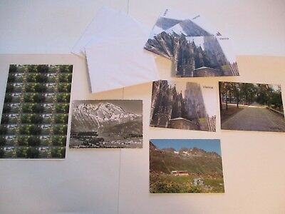 Vienna Austria Souvenirs 45 Items Magnet Stationery Post Cards Stickers #11