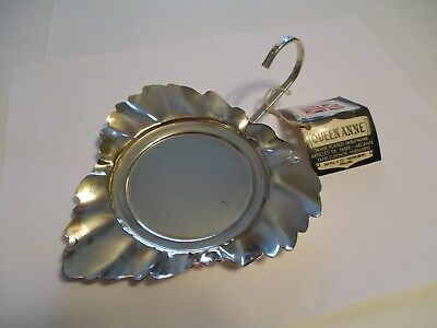 QUEEN ANNE SILVER PLATED TABLEWARE TRAY PLATTER MADE IN ENGLAND 5 x 5.5 INCHES