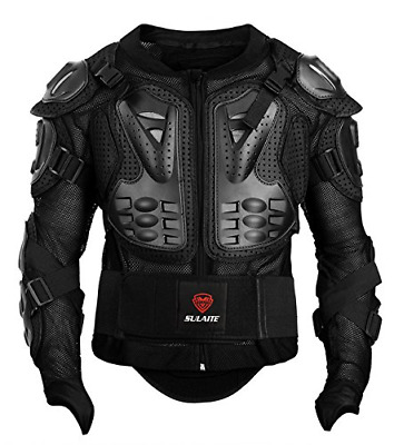 GuTe Motorcycle Protective Jacket,Sport Motocross MTB Racing Full Body Armor for