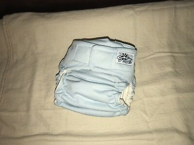 Softbums Echo OS Cloth Diaper AI2 Two Inserts Hook Loop