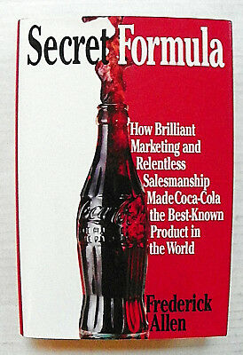 """""""secret Formula"""" By Allen What Made Coca-Cola The Best Know Product? Book"""