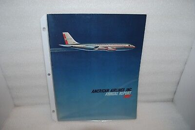 Vintage - 1957 American Airlines Inc. Annual Report - Fantastic Photos!