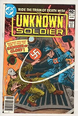 Unknown Soldier #240 (VF/NM) (1980, DC) Dick Ayers!