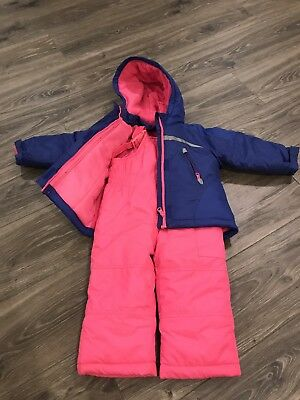 Girls Snow Pants And Jacket Set 2T