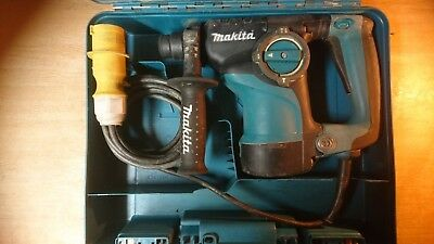 Makita HR2811F 110V SDS-Plus Rotary Hammer in a Carry Case