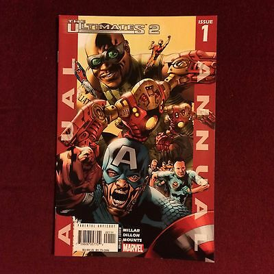 Marvel Comics The Ultimates 2 annual issue 1 2005 Captain America Avengers