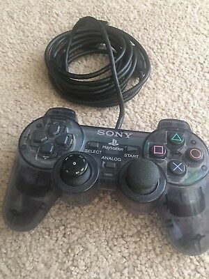 Clear Sony Playstation 2 PS2 Controller Dualshock 2 OEM Official