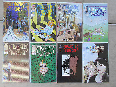 Strangers In Paradise  No.1,4,5,6,7,8,10,11   High Grade   1994 To 1997