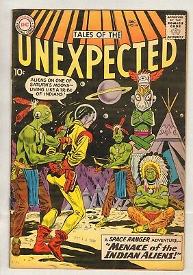 Tales of the Unexpected #44 (FN/VF) (1959, DC) Space Ranger!