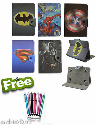 "Common Kids Leather Stand Case Cover For Amazon Fire 7 Alexa (7""inch)  tablet"