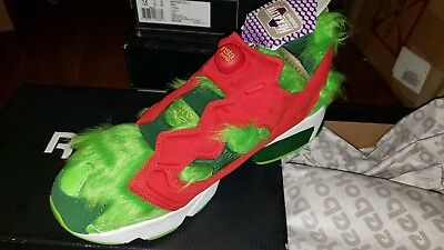 6a2dfe37ae3 Reebok InstaPump Fury CV Grinch Semi Solar Green Red BD4758 New in Box Men s  13
