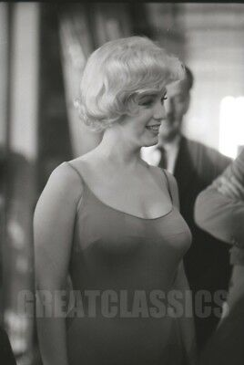 Marilyn Monroe Let's Make Love 1960 Beautiful Candid On Set Camera Negative
