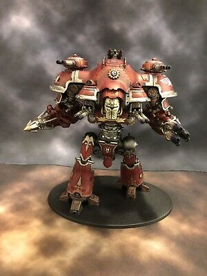 Warhammer 40k Imperial Knight Valiant Dominus Class Painted Extremely Well