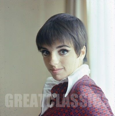 Liza Minnelli 1966 Age 20 Young Beautiful 2 1/4 Color Camera Transparency