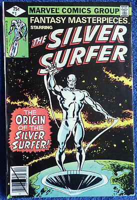 Fantasy Masterpieces #1 (1979) - starring The Silver Surfer! Stan Lee! Buscema!