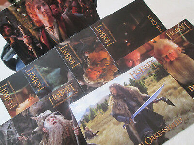 Lord of the Rings Trading Cards, Denny's Collectible Set, 8 Cards, 7 Characters