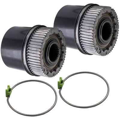 Pair Locking Hub Manual fit Ford F-250 F-350  Super Duty 1999-2004 4WD