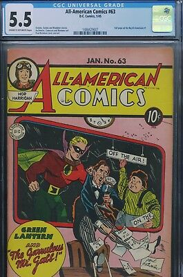 ALL-AMERICAN COMICS #63 - CGC - Green Lantern
