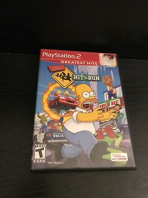 Playstation 2 The Simpsons Hit & Run (Complete)