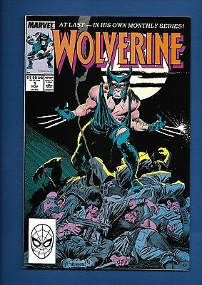 Wolverine #1 2 3 4 5 6 Comic Book Lot 1988 Marvel Comics CLAREMONT BUSCEMA