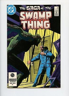 Saga of Swamp Thing #21 VF/NM Alan Moore Origin Issue