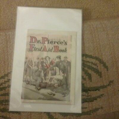 DR. PIERCE'S FIRST AID BOOK ANTIQUE ADVERTISING MEDICAL BROCHURE Vintage